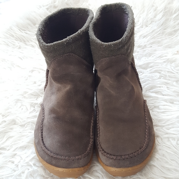 Columbia Shoes | Slipon Suede Boots